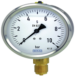 WIKA manometer RVS kast