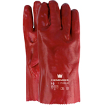 ROYAL Pvc handschoenrood 35cm, cat. 2