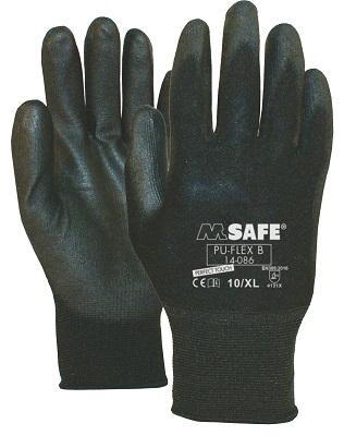 c714bd2eb172c0 ROYAL Handschoen PU-FLEX zwart